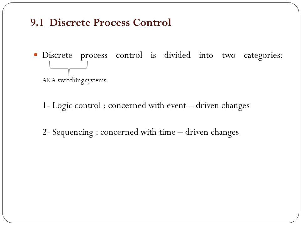 9.1 Discrete Process Control