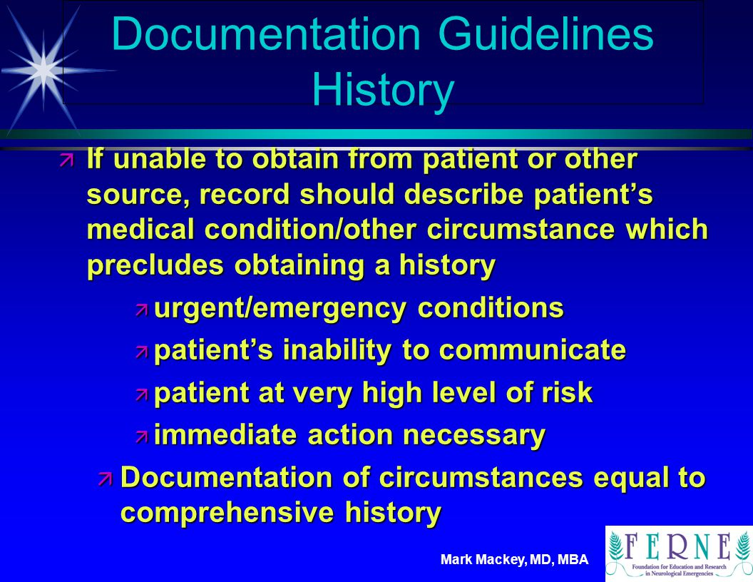 Documentation Guidelines History
