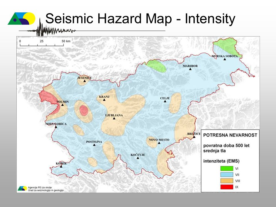 Seismic Hazard Map - Intensity