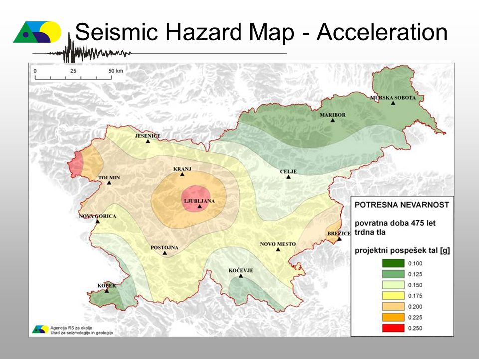 Seismic Hazard Map - Acceleration