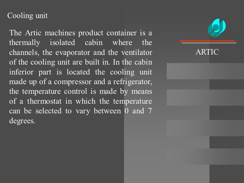 Cooling unit ARTIC.