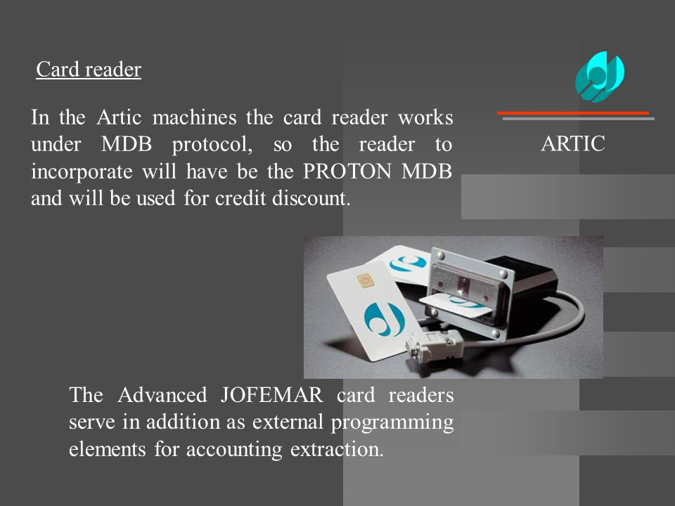 Card reader ARTIC.