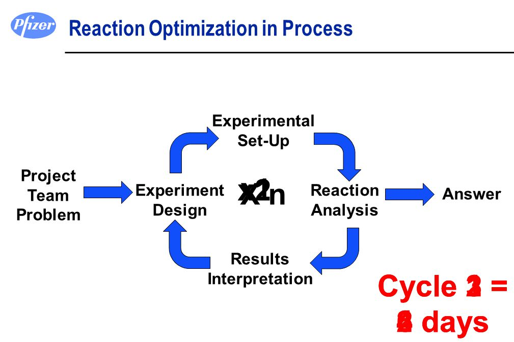 Reaction Optimization in Process