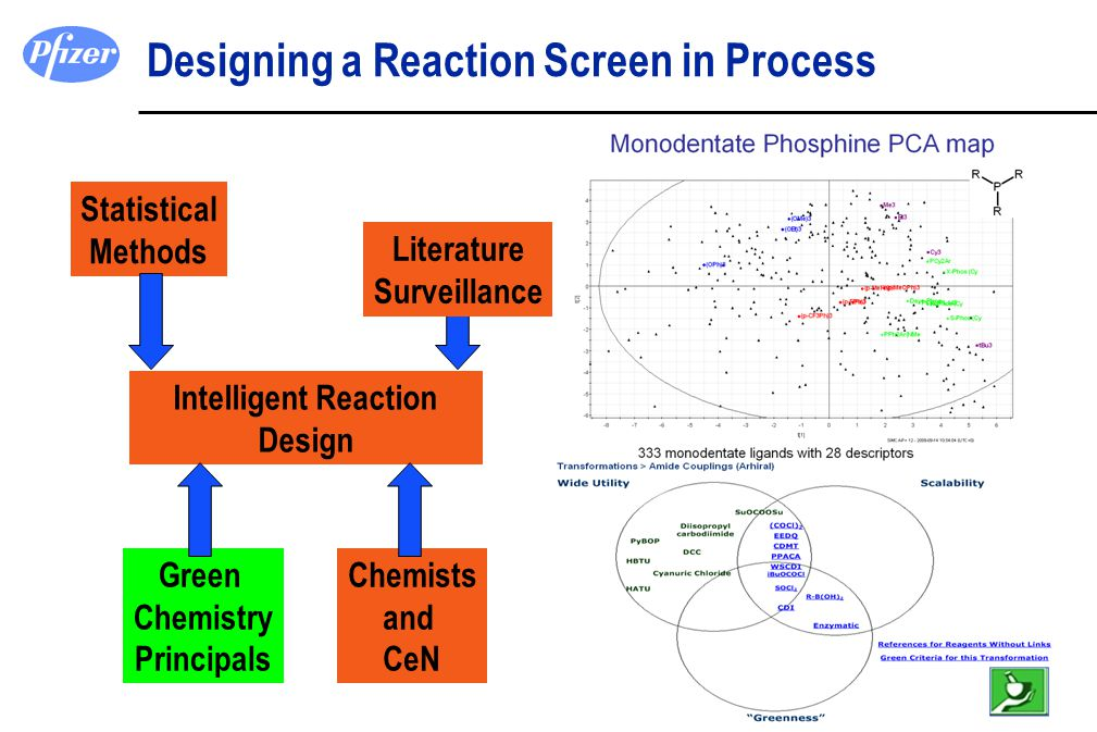 Designing a Reaction Screen in Process