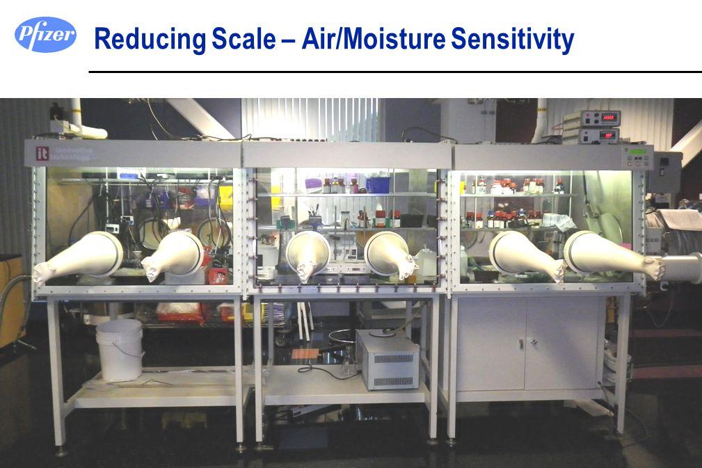 Reducing Scale – Air/Moisture Sensitivity