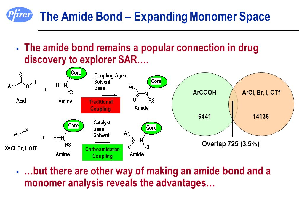 The Amide Bond – Expanding Monomer Space