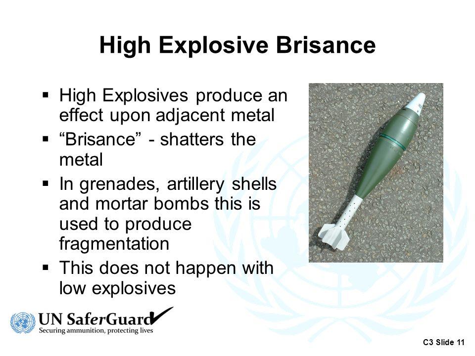 High Explosive Brisance