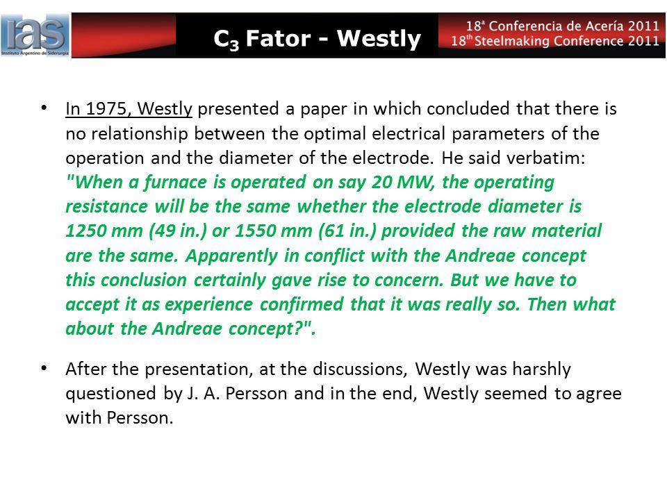 C3 Fator - Westly