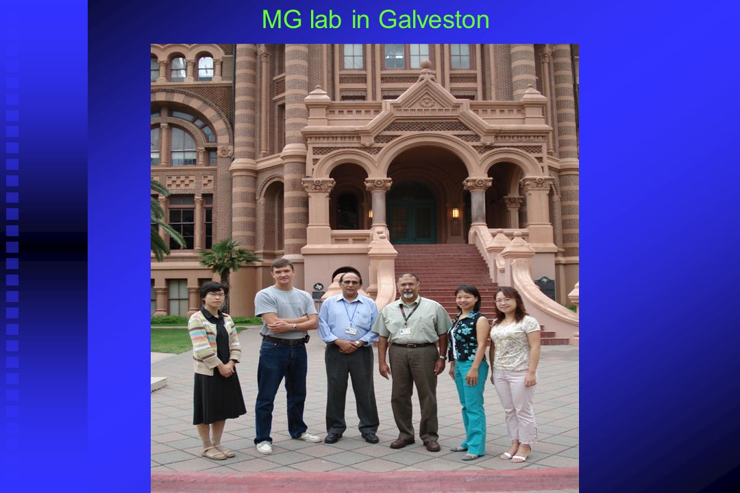 MG lab in Galveston
