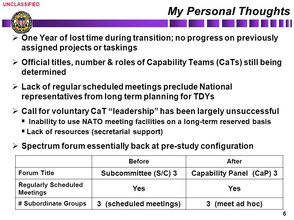 Capability Panel (CaP) 3