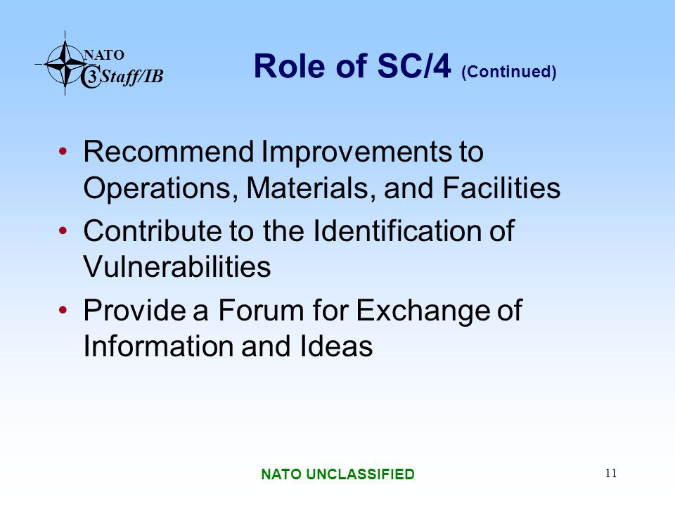 Role of SC/4 (Continued)