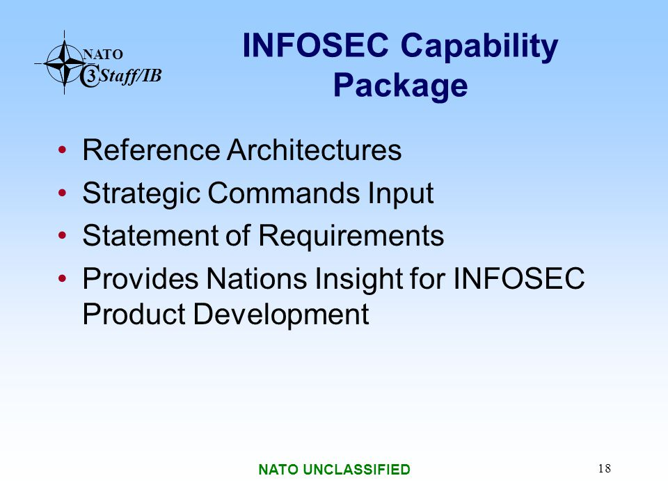 INFOSEC Capability Package