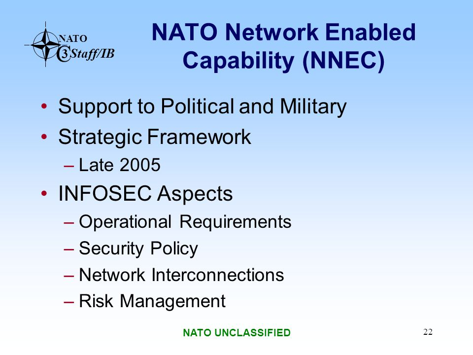 NATO Network Enabled Capability (NNEC)