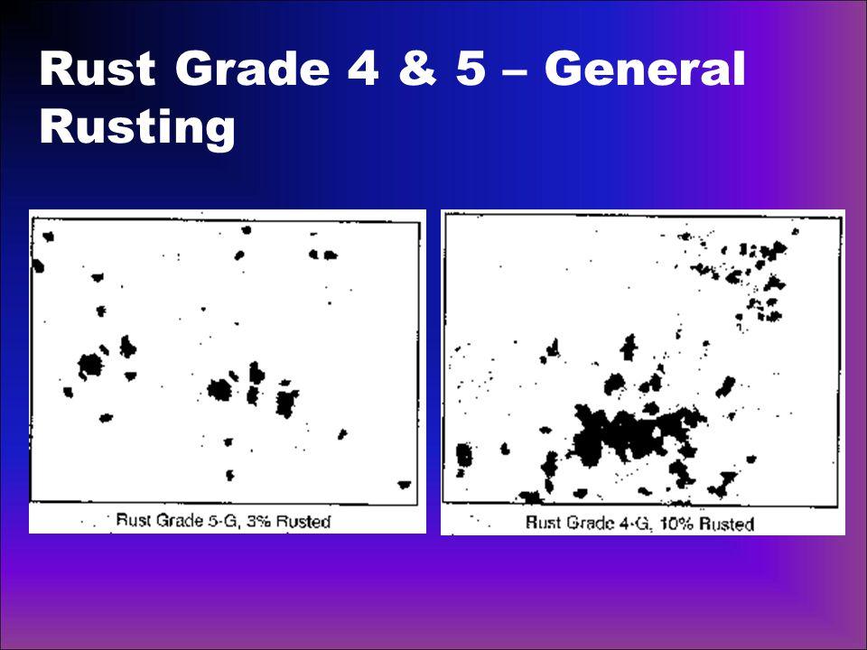 Rust Grade 4 & 5 – General Rusting