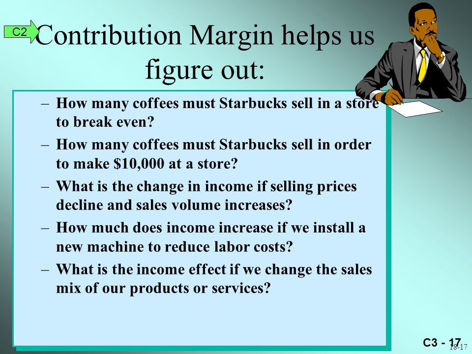 Contribution Margin helps us figure out: