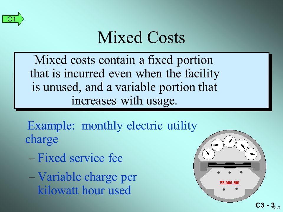 C1 Mixed Costs.