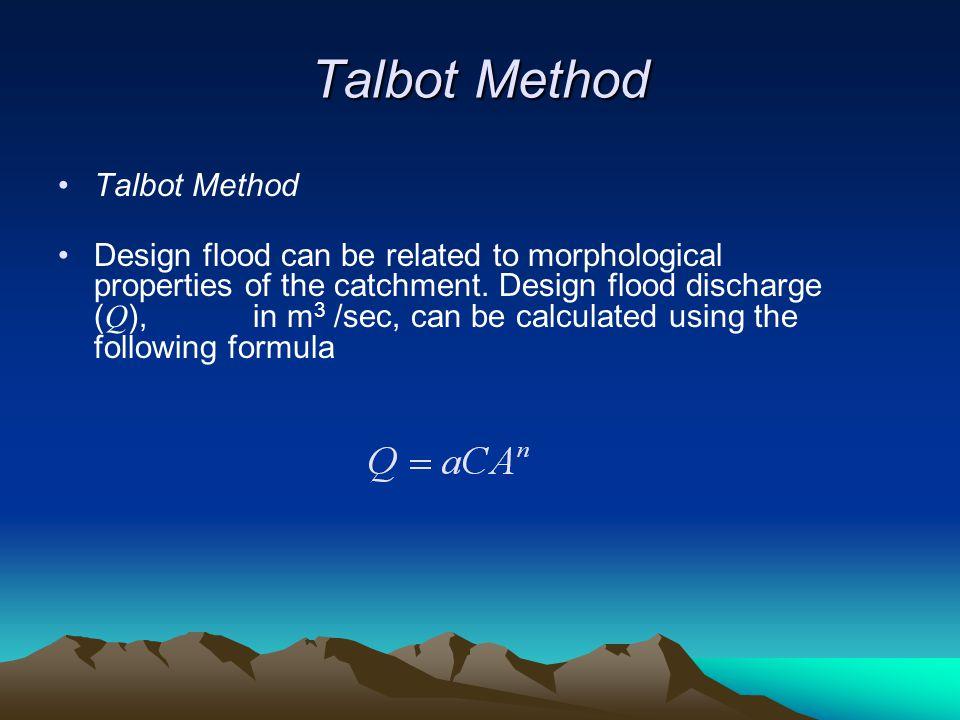 Talbot Method Talbot Method