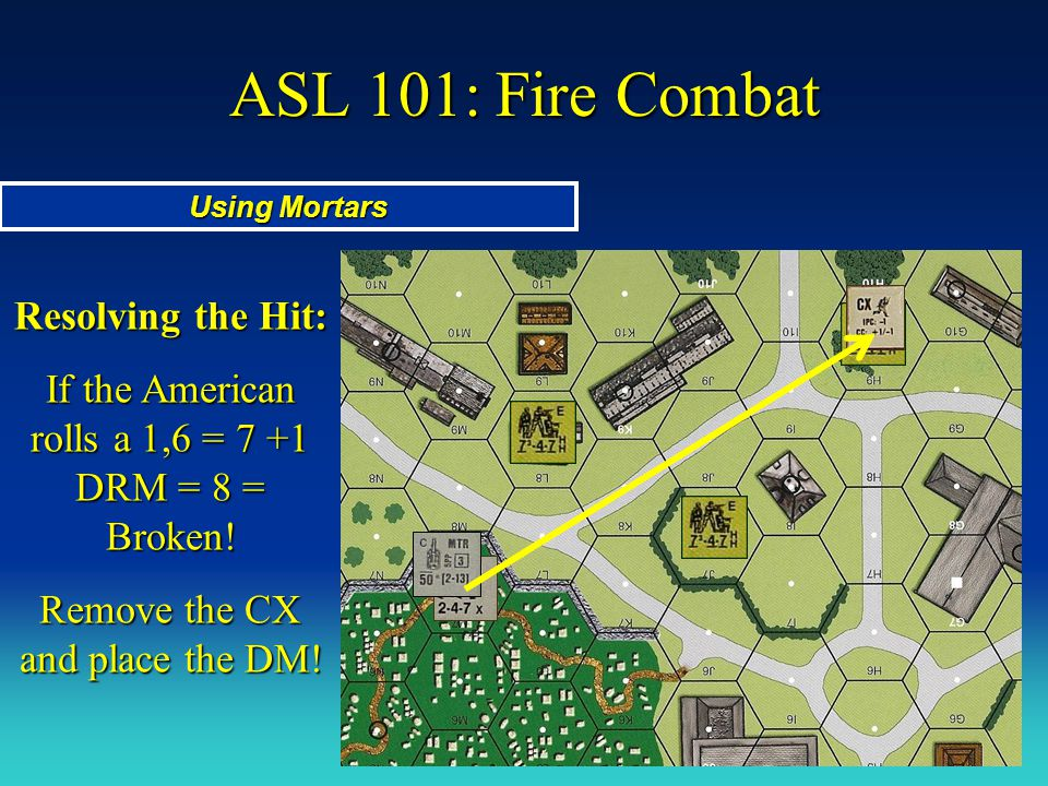 ASL 101: Fire Combat Resolving the Hit: