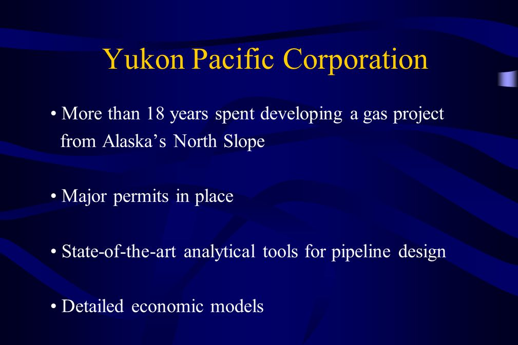 Yukon Pacific Corporation