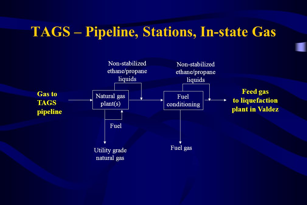 TAGS – Pipeline, Stations, In-state Gas