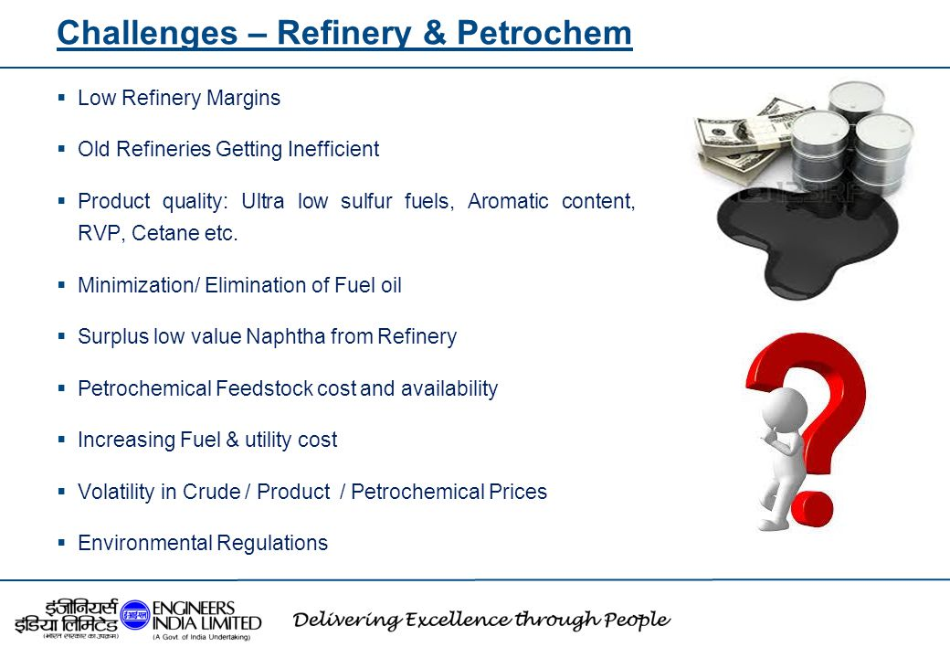 Challenges – Refinery & Petrochem