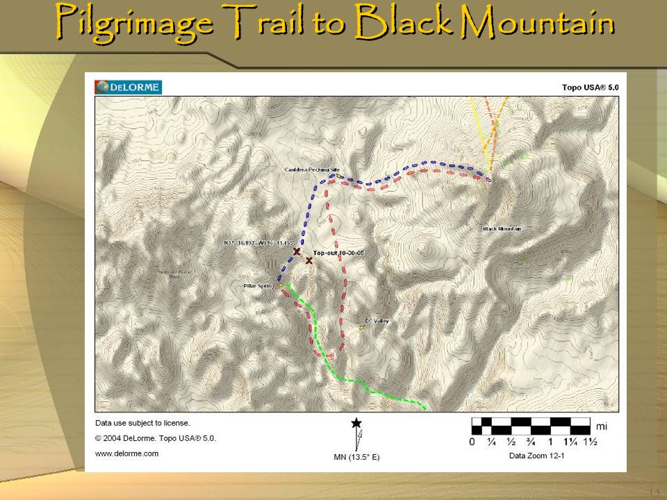 Pilgrimage Trail to Black Mountain