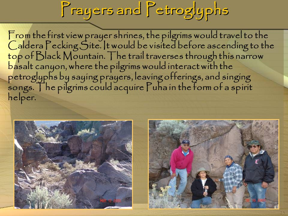 Prayers and Petroglyphs