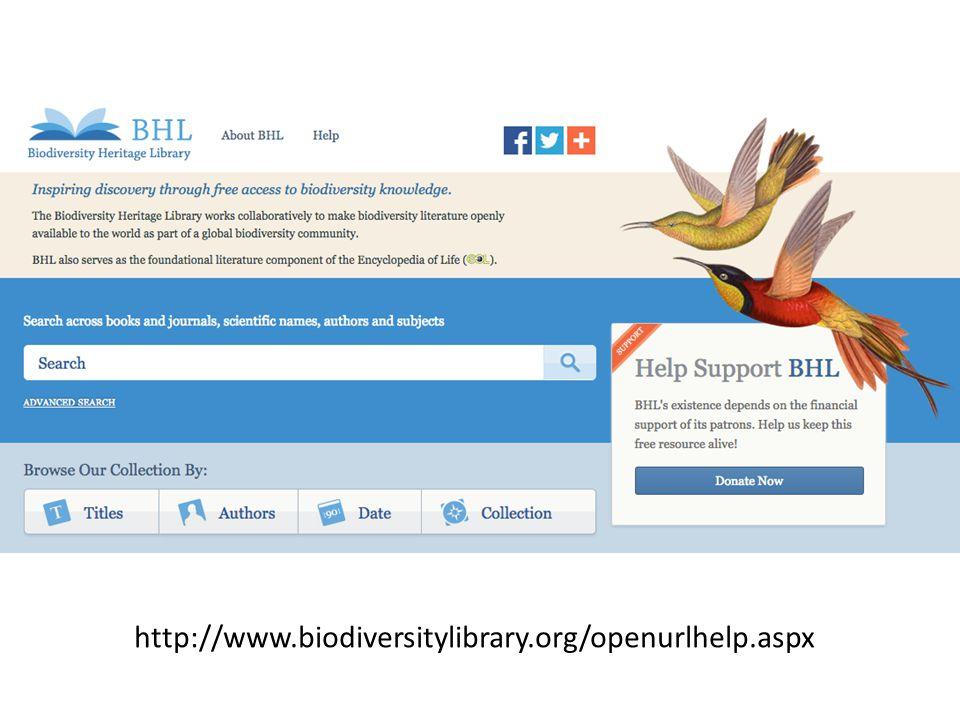 http://www.biodiversitylibrary.org/openurlhelp.aspx