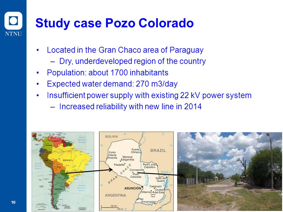 Study case Pozo Colorado
