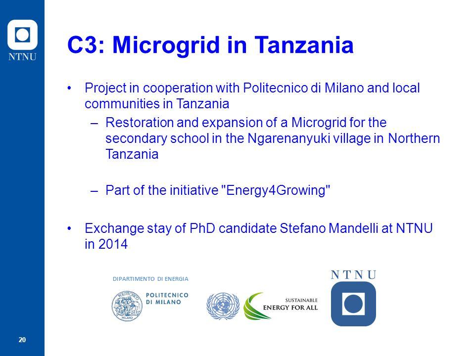 C3: Microgrid in Tanzania