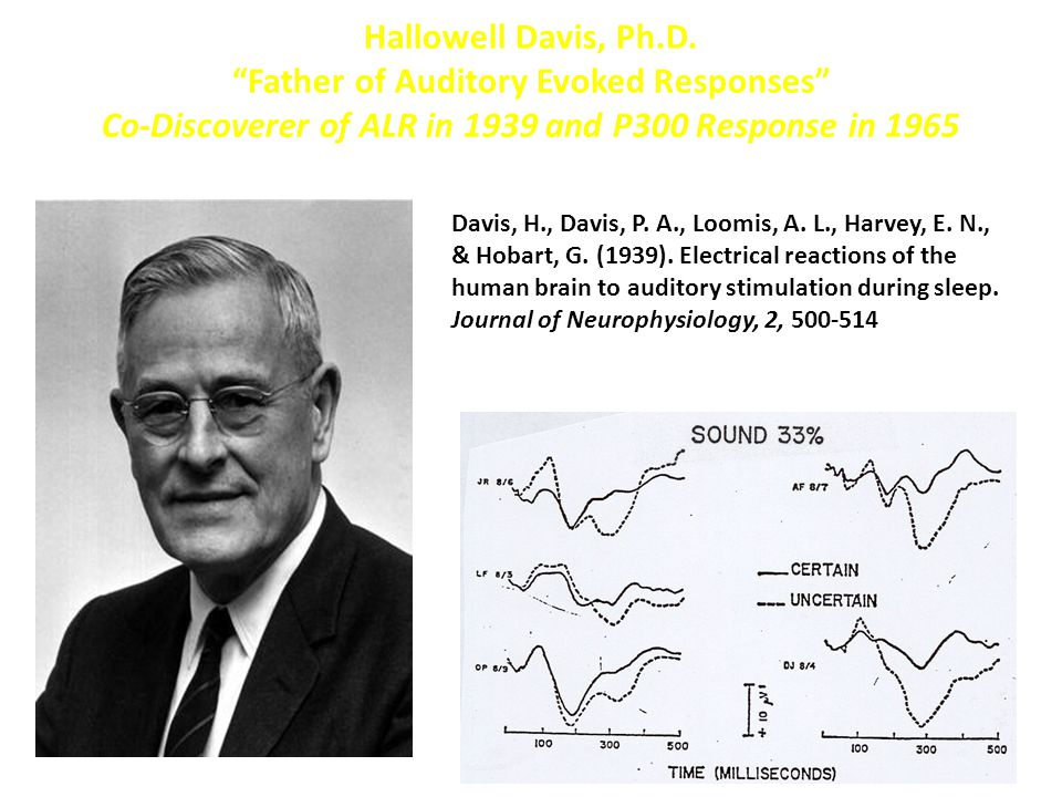 Father of Auditory Evoked Responses
