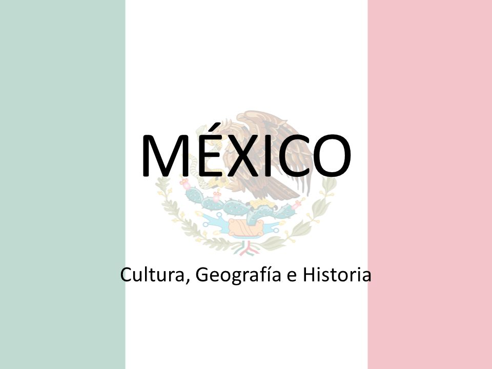 Cultura, Geografía e Historia