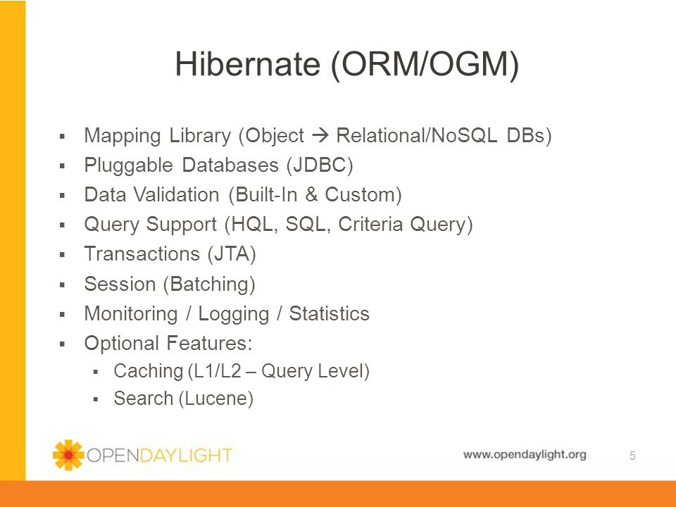 Hibernate (ORM/OGM) Mapping Library (Object  Relational/NoSQL DBs)
