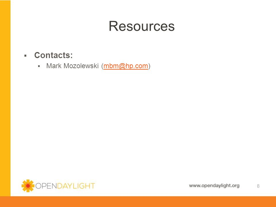Resources Contacts: Mark Mozolewski (mbm@hp.com)