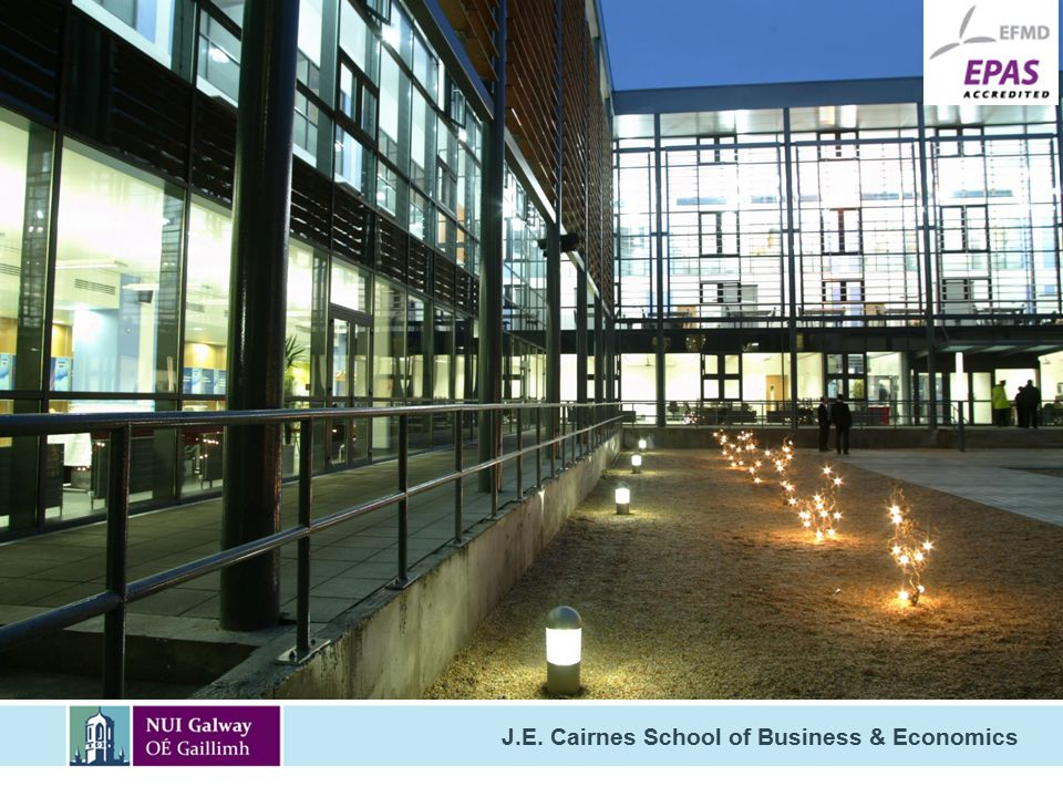 J.E. Cairnes School of Business & Economics