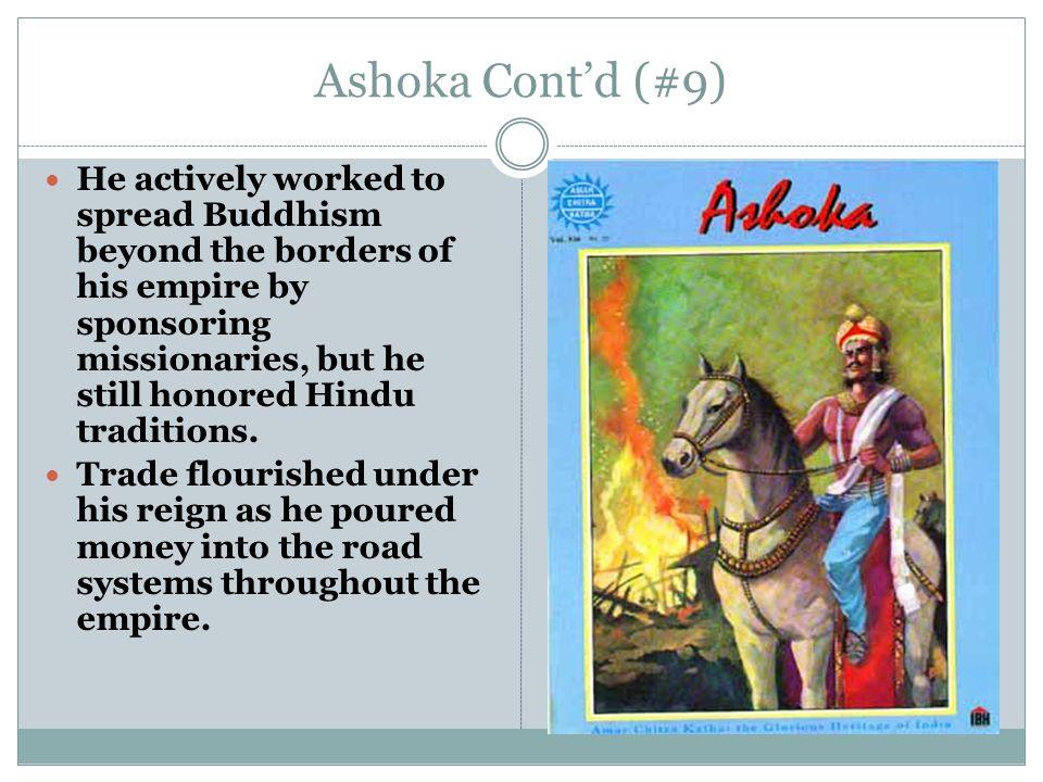 Ashoka Cont'd (#9)