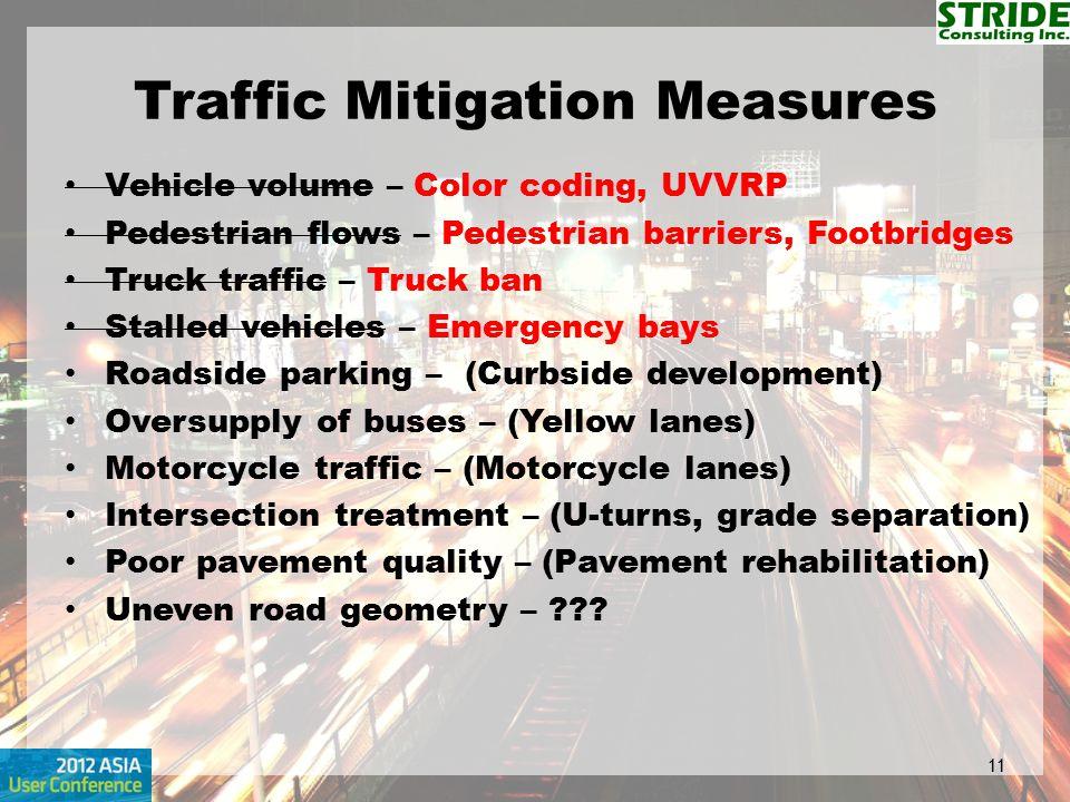 Traffic Mitigation Measures