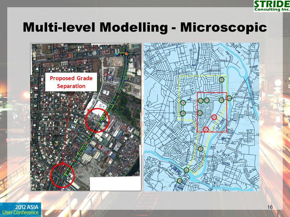 Multi-level Modelling - Microscopic