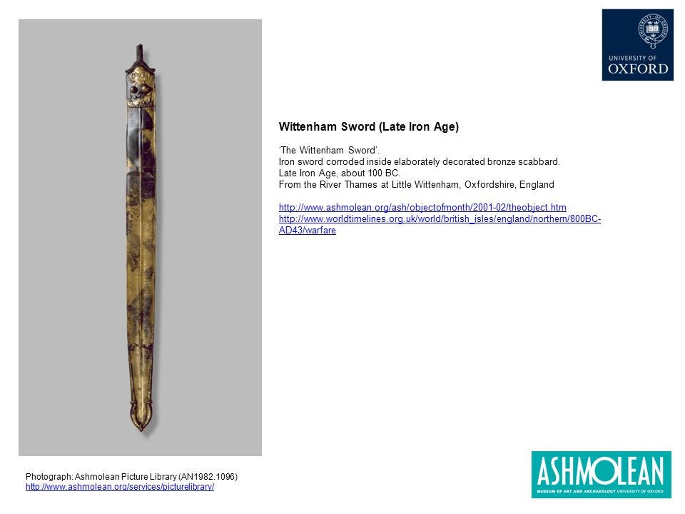 Wittenham Sword (Late Iron Age)