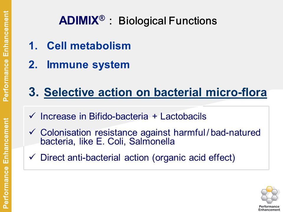 ADIMIX® : Biological Functions