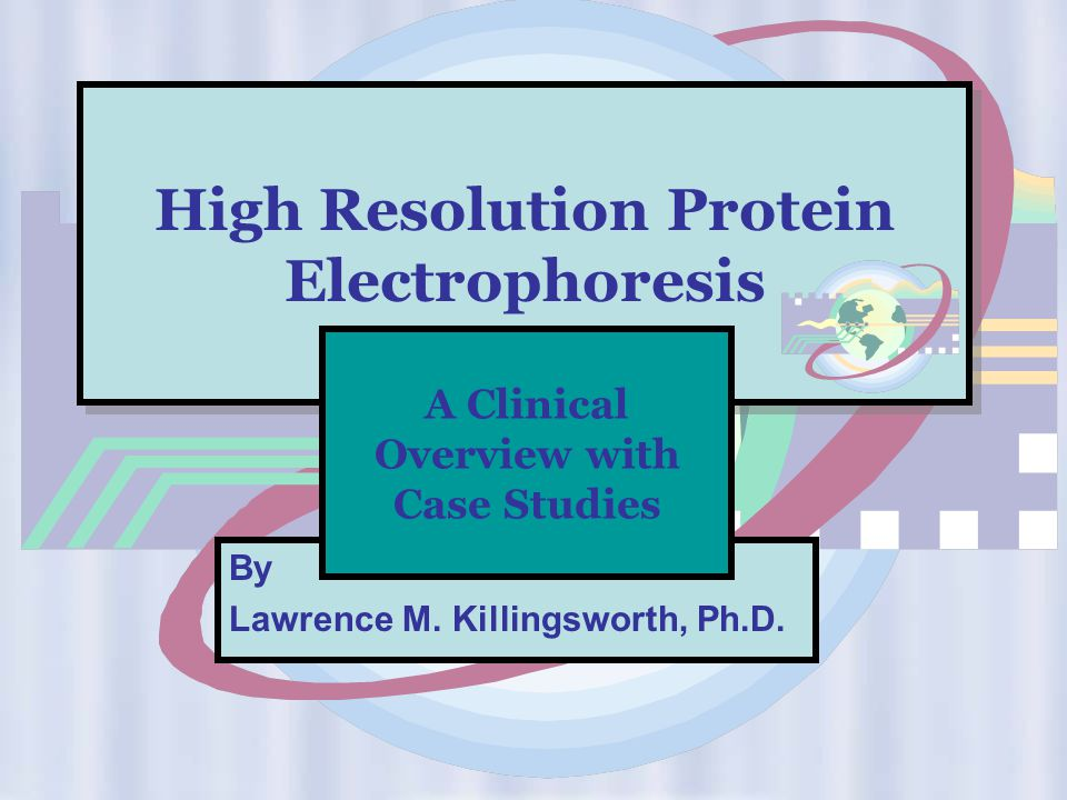 High Resolution Protein Electrophoresis