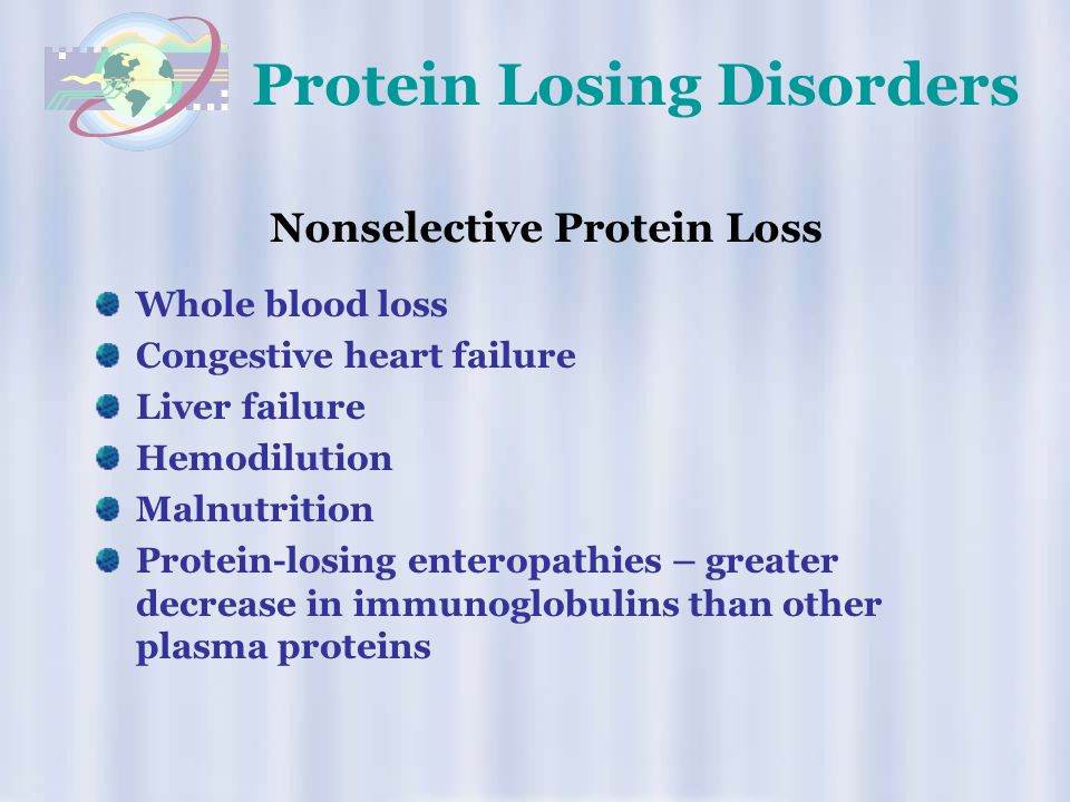 Protein Losing Disorders