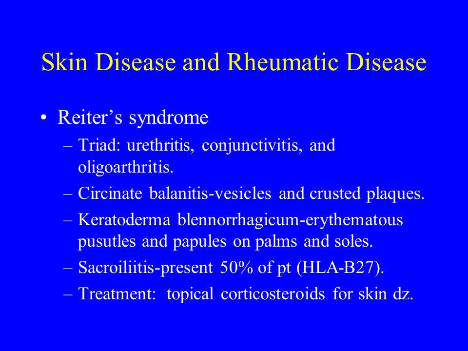 Skin Disease and Rheumatic Disease