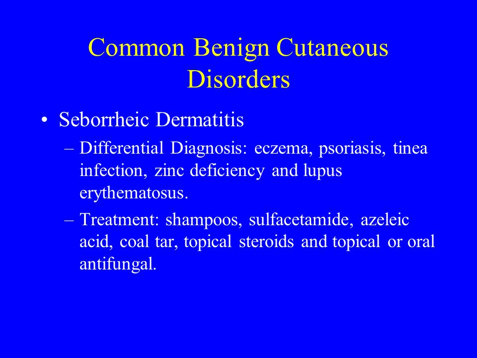 Common Benign Cutaneous Disorders