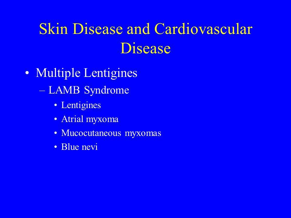 Skin Disease and Cardiovascular Disease