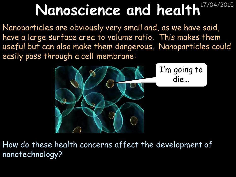 Nanoscience and health