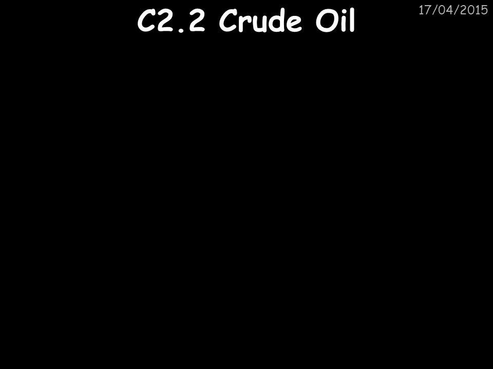 11/04/2017 C2.2 Crude Oil