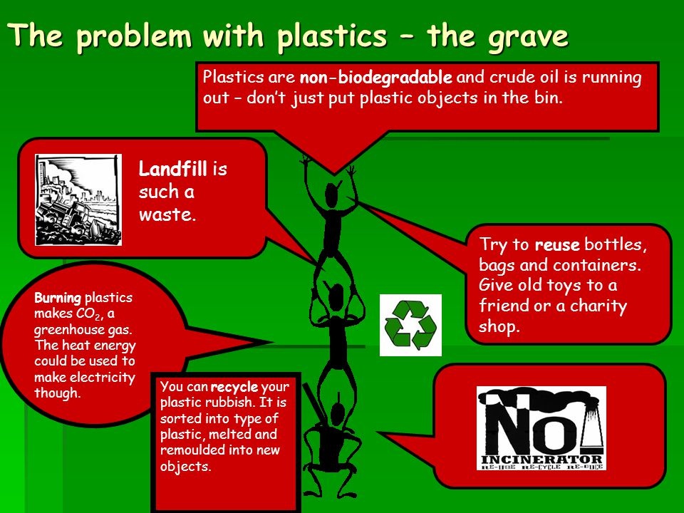 The problem with plastics – the grave