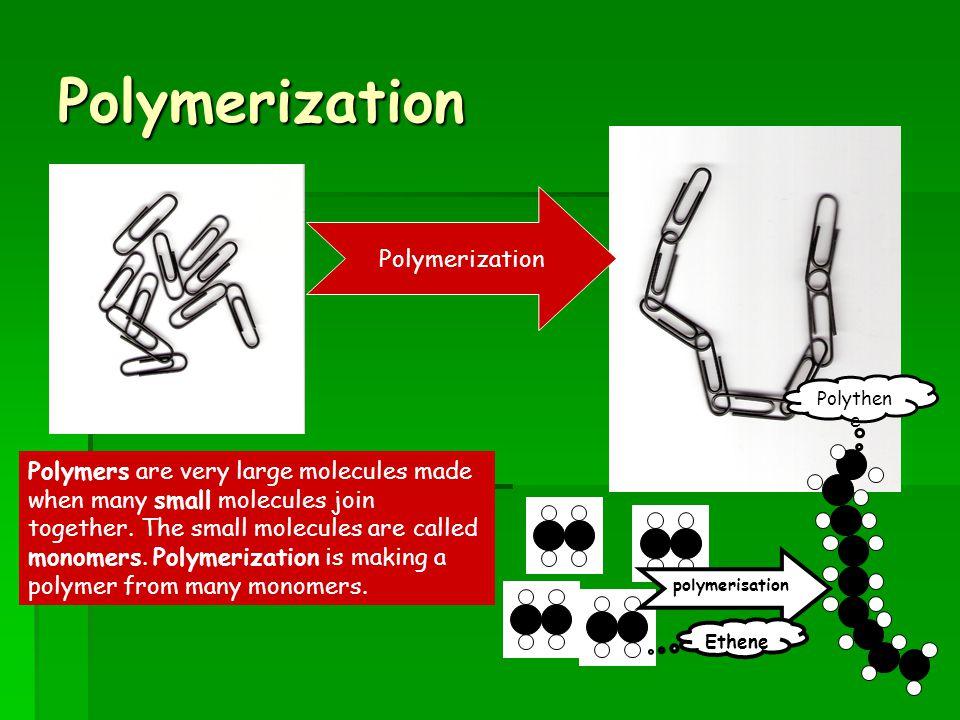 Polymerization Polymerization