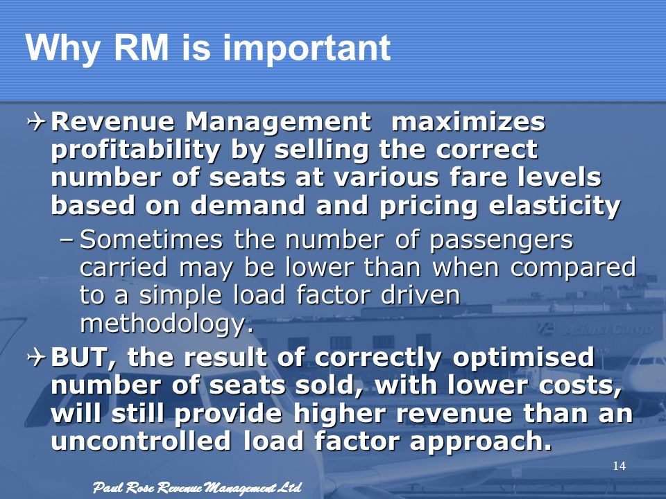 Why RM is important